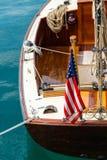 Barco de navegación del vintage Fotografía de archivo