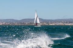 barco de navegación recreativo fotografía de archivo libre de regalías