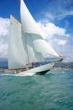 Barco de navegación viejo Imagen de archivo libre de regalías
