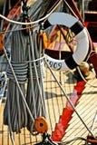 Barco de navegación viejo foto de archivo libre de regalías