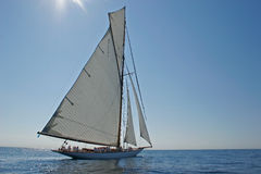 Barco de navegación viejo Imágenes de archivo libres de regalías