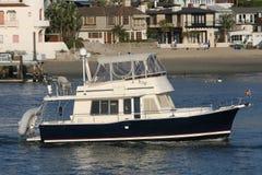 Barco de navigação. Foto de Stock