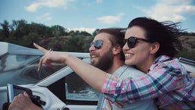 Barco de navigação de riso dos pares Imagens de Stock Royalty Free