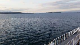 Barco de navigação do oceano Foto de Stock Royalty Free