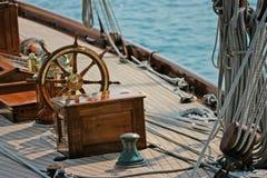 Barco de navigação velho Imagens de Stock Royalty Free