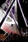 Barco de oscilación del carnaval Imagen de archivo libre de regalías