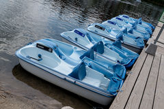 Barco de paleta Foto de archivo