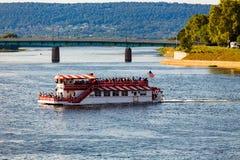 Barco de paleta del río Susquehanna Fotos de archivo libres de regalías