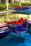 Barco de paleta en el río fotos de archivo libres de regalías
