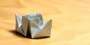 Barco de papel Foto de archivo