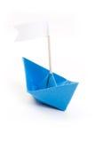 Barco de papel de Origami Foto de Stock