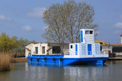 Barco de paso Imagenes de archivo