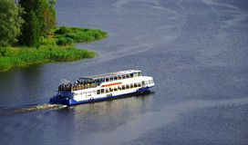 Barco de passageiro Foto de Stock