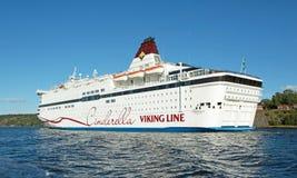 Barco de passageiro Viking Cinderella Imagens de Stock