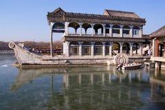 Barco de pedra no palácio de verão Imagem de Stock