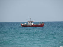 Barco de pesca Foto de Stock Royalty Free