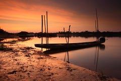 Barco de pesca. foto de archivo libre de regalías