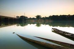 Barco de pesca. foto de archivo