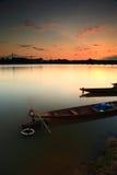 Barco de pesca. imagem de stock royalty free
