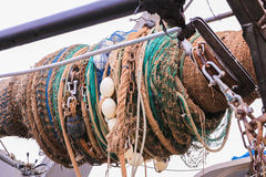 Barco de pesca Fotos de archivo libres de regalías