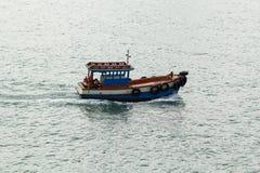 Barco de pesca Imágenes de archivo libres de regalías
