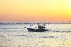 Barco de pesca Foto de archivo