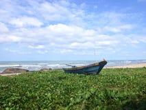 Barco de pesca Foto de archivo libre de regalías