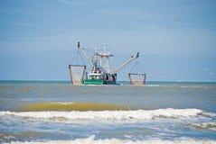Barco de pesca fotografia de stock