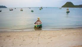 Barco de pesca Fotos de Stock