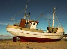 Barco de pesca Imagens de Stock