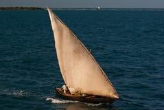 Barco de pesca asiático tradicional Fotografia de Stock Royalty Free