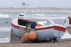 Barco de pesca danés Fotografía de archivo libre de regalías