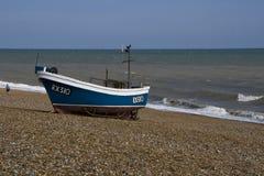 Barco de pesca de Brached Fotos de archivo libres de regalías