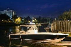 Barco de pesca de los peces espadas de la Florida Fort Lauderdale Foto de archivo
