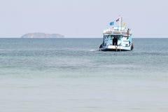 Barco de pesca de madera Imágenes de archivo libres de regalías