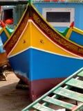 Barco de pesca de Malta fotos de archivo libres de regalías