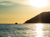 Barco de pesca de Paraty Foto de Stock