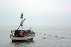 Barco de pesca de Tailândia Foto de Stock Royalty Free