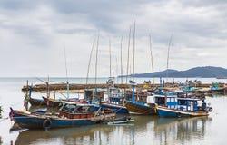 Barco de pesca de Tailandia Fotografía de archivo libre de regalías