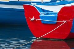 Barco de pesca de Tradtional - Sicília Imagens de Stock Royalty Free