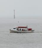 Barco de pesca del cangrejo del barquero de Maryland Fotos de archivo libres de regalías