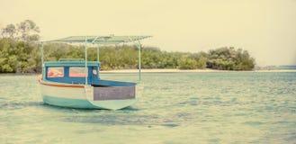 Barco de pesca del Caribe Foto de archivo libre de regalías