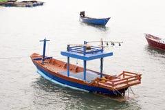 Barco de pesca do calamar Imagem de Stock Royalty Free
