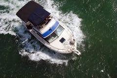 Barco de pesca do esporte fotos de stock royalty free