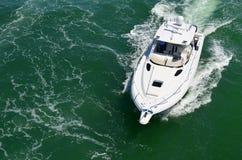 Barco de pesca do esporte foto de stock royalty free