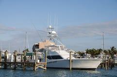 Barco de pesca do grande jogo Fotos de Stock