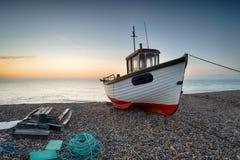 Barco de pesca em Kent imagem de stock royalty free