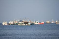 Barco de pesca em Tailândia Imagem de Stock Royalty Free