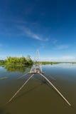 Barco de pesca en Asia Fotografía de archivo
