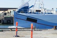 Barco de pesca en Dinamarca Foto de archivo libre de regalías